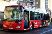 Лондон переходит на электрические автобусы BYD eBus