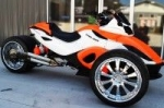 "Трицикл Can-Am Spyder с комплектом C&S 500 (19.7"") Hotrod"
