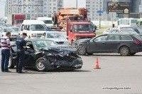 Пьяный и без прав водитель Alfa Romeo 156 врезался в Audi A6