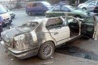 ДТП в Киеве: на бульваре Дружбы Народов BMW 525 врезался в бетонный парапет