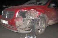 ДТП в Киеве: Dodge Caliber сбил насмерть одного пешехода, а Mercedes - второго