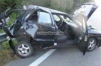 ДТП под Киевом: Subaru Impreza протаранил Chery Amulet - водитель погиб