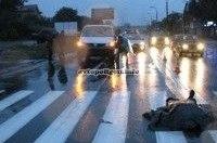 ДТП в Киеве: на Стеценко Volkswagen Transporter сбил насмерть пешехода
