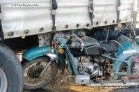 ДТП в черкасской области: на трассе Киев-Одесса мотоцикл врезался в прицеп грузовика