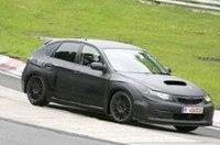 Появились шпионские фото Subaru Impreza WRX STI 2009