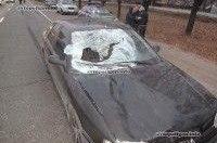 ДТП в Киеве: на Окружной Renault Safrane сбил насмерть пешехода
