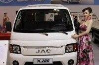 Компания JAC презентовала мини-грузовик