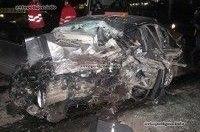 Ужасное ДТП в Киеве: в Протасовом яру столкнулись Hyundai Sonata и Subaru Legacy