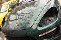 Porsche Cayenne оставили без фар - случаи воровства учащаются