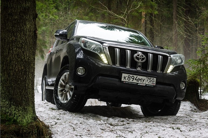 Тест-драйв Toyota Land Cruiser Prado: В лучших традициях