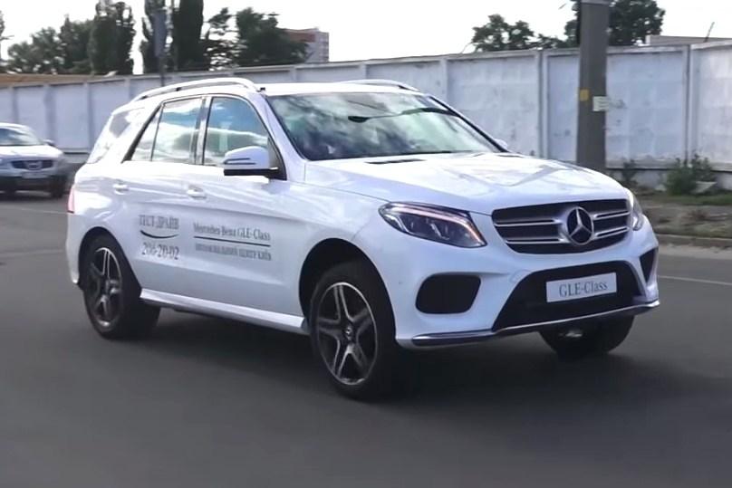 Тест-драйв Mercedes GLE-Class: Mercedes-Benz GLE. Дизельный оптимум