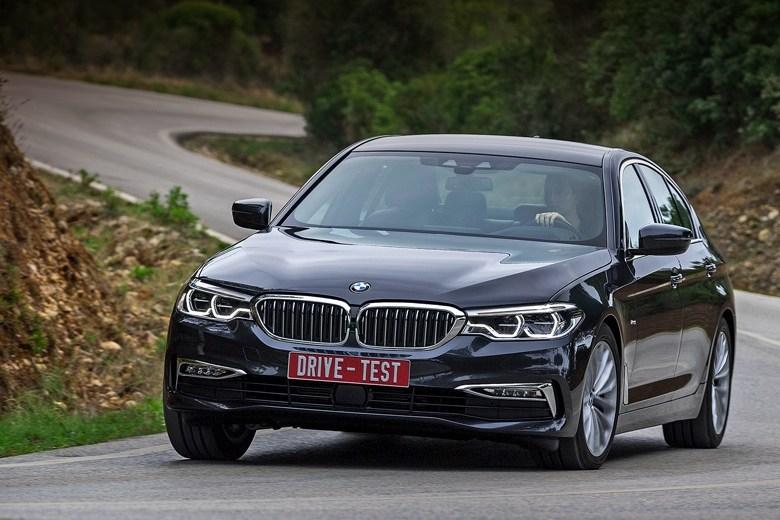 Тест-драйв BMW 5 Series: Видим прочный фундамент под электроникой BMW пятой серии