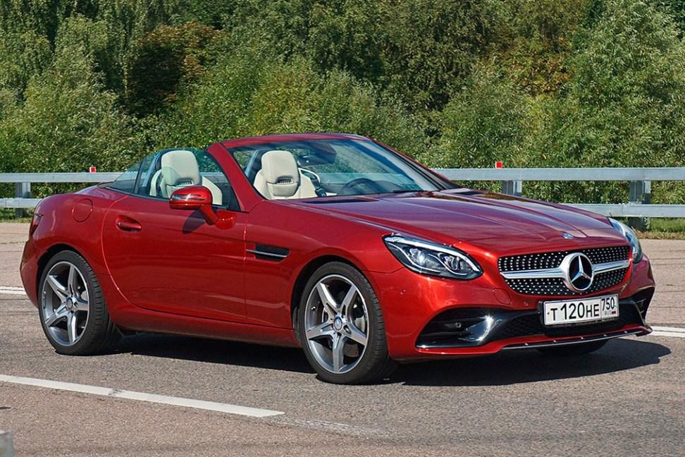 Тест-драйв Mercedes SLC-Class: Взрослые игрушки