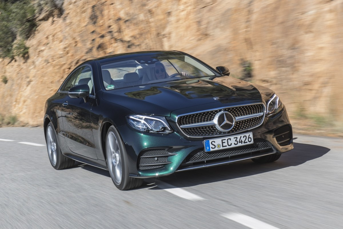 Тест-драйв Mercedes E-Class: E-Coupe 2017 - необычный Mercedes