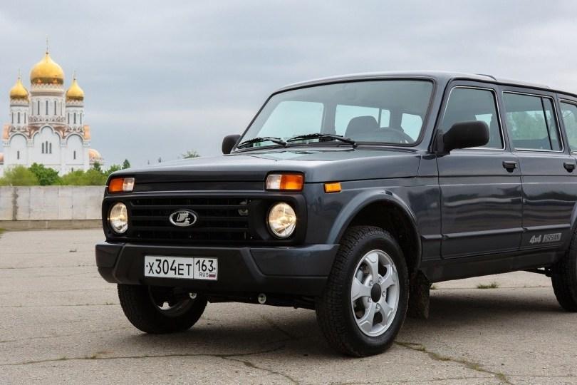 Тест-драйв ВАЗ Lada 4x4: Любовь до урбана