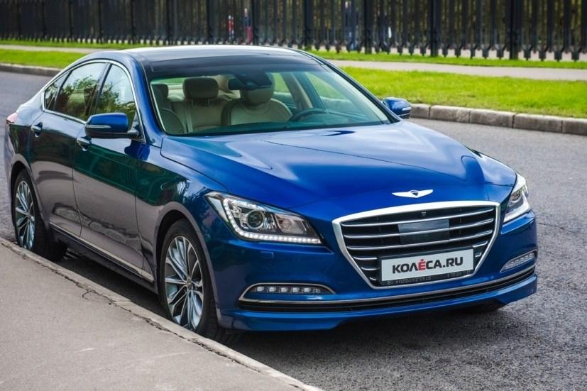 Тест-драйв Hyundai Genesis: Разгонный блок
