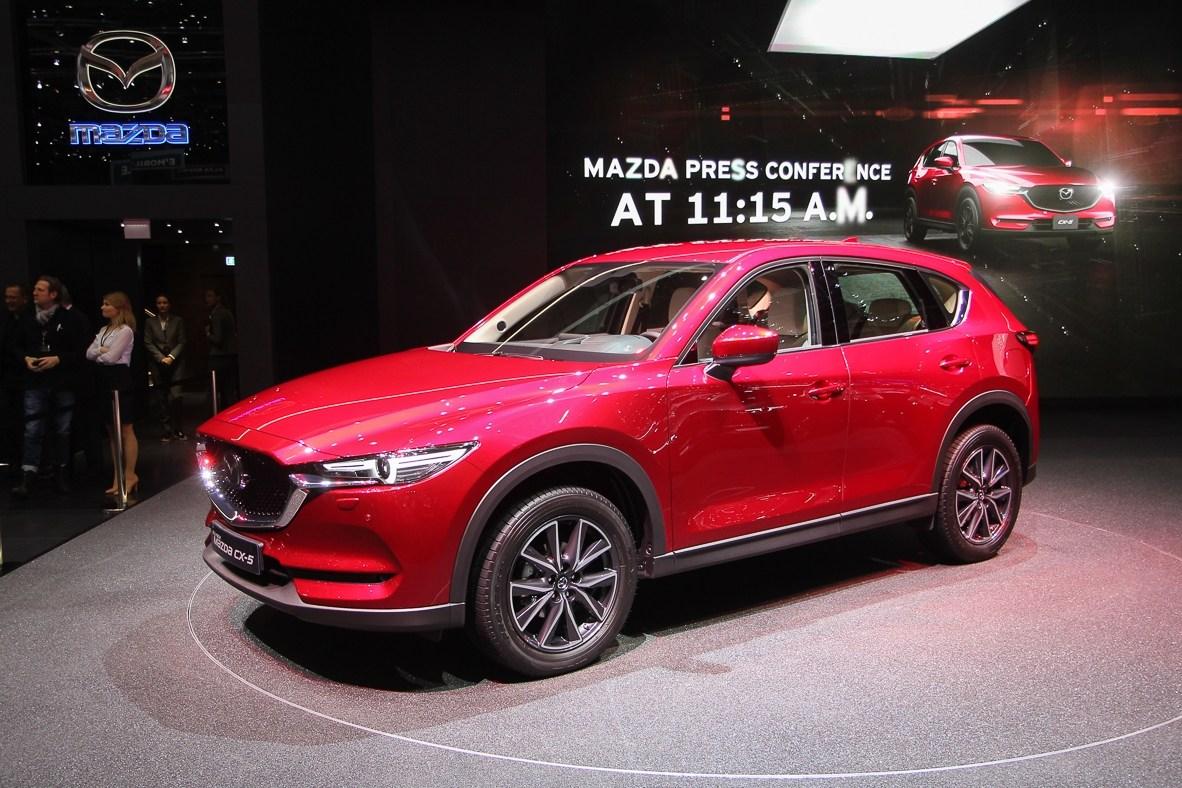 Mazda на Женевском автосалоне 2017