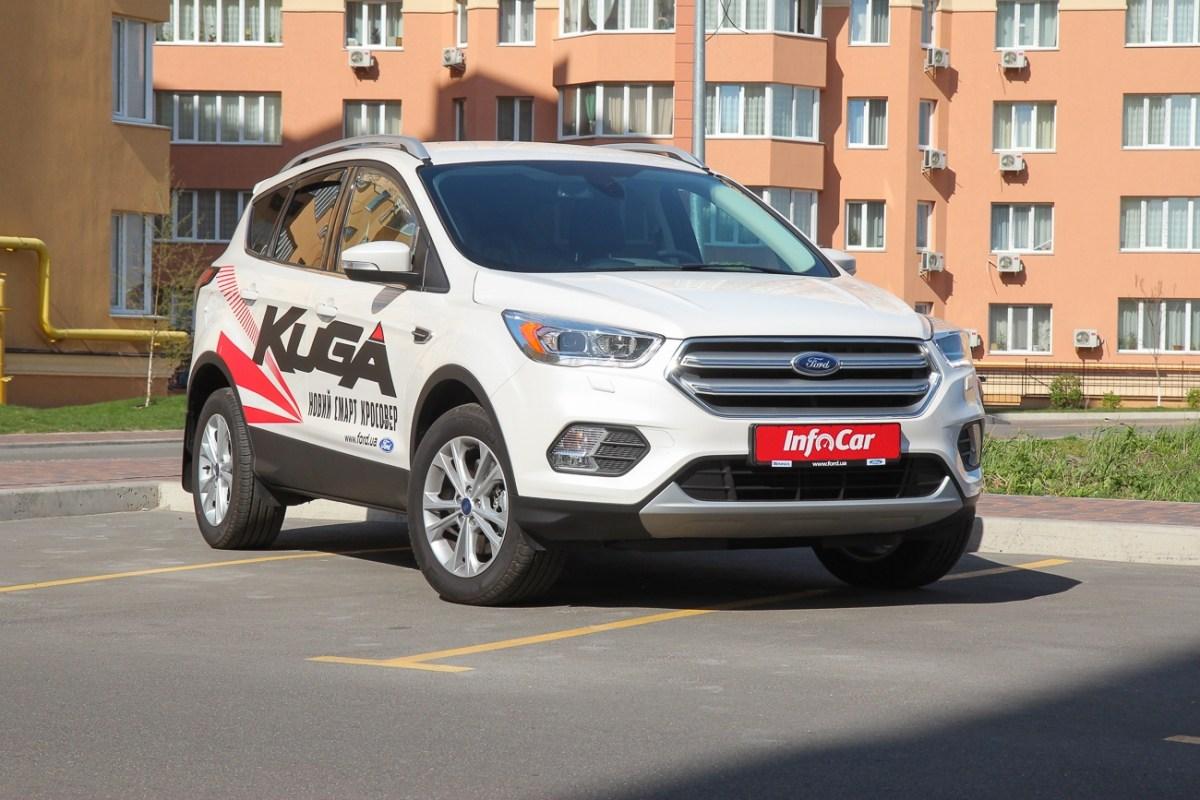 Тест-драйв Форд Куга: Ford Kuga. Глубокий рестайлинг
