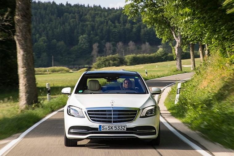 Тест-драйв Mercedes S-Class: Пик комфорта