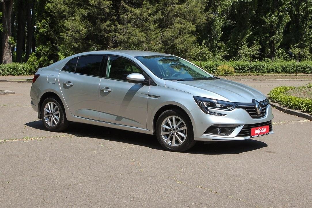 Тест-драйв Renault Megane: Renault Megane Sedan. Снова вместе