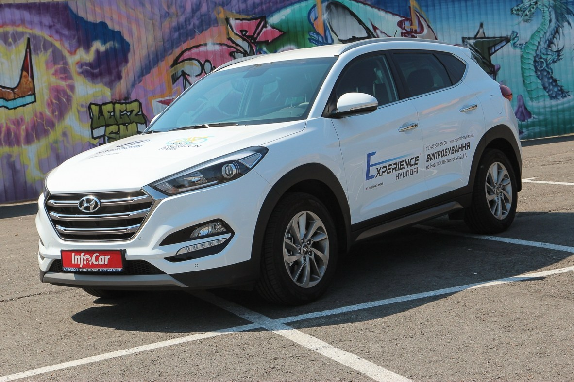 Тест-драйв Hyundai Tucson: Hyundai Tucson 1.6 T-GDi. Турботяга