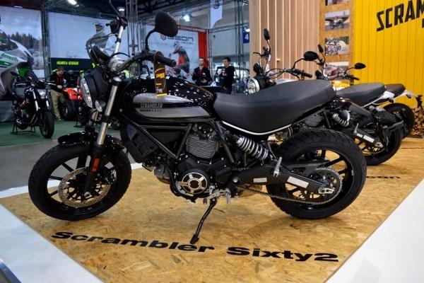 Новинки Ducati на выставке Мотобайк 2017