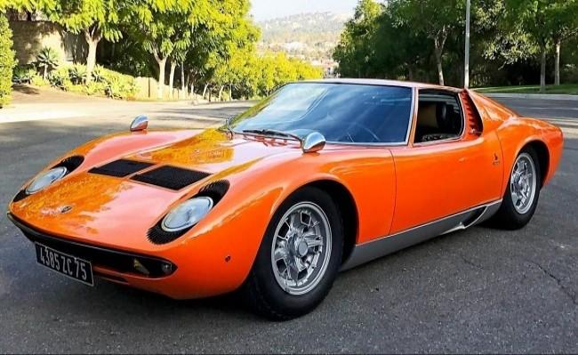 Lamborghini Miura P400S, 1968 год