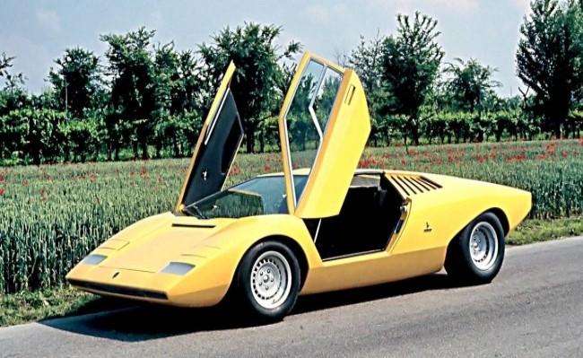 Lamborghini Countach LP500 Prototipo, 1971 год