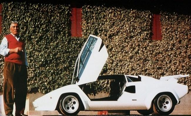 Ферруччо Ламборгини и Lamborghini Countach S