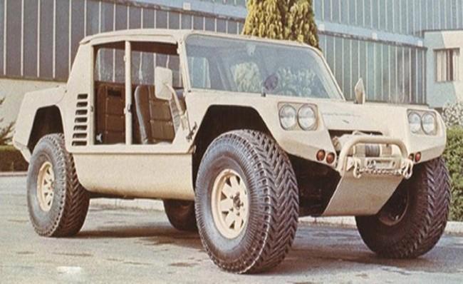 Lamborghini Cheetah, 1977 год