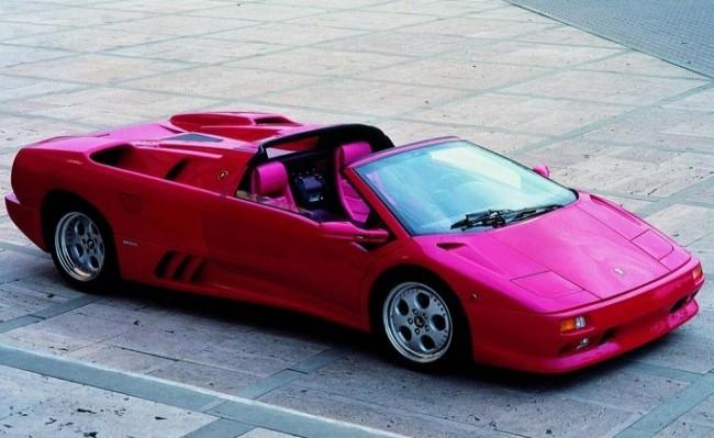 Lamborghini Diablo VT Roadster, 1996 год