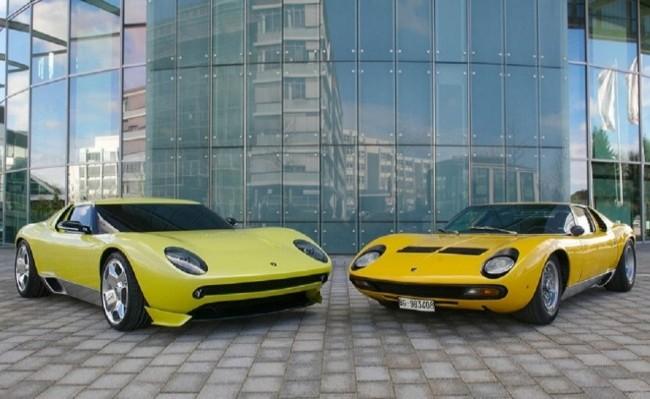 Lamborghini Miura Concept и Lamborghini Miura Original, 2006 год