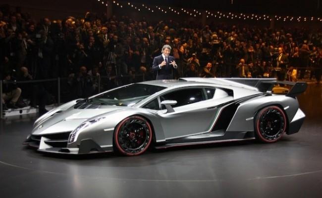 Lamborghini Veneno. Женева, 2013 год
