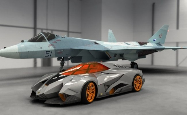 Lamborghini Egoista, 2013 год