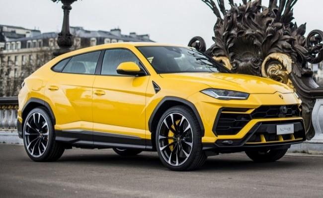 Lamborghini Urus. 2017 год