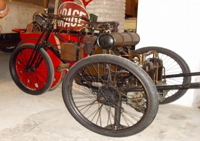 Первый автомобиль Bugatti, 1898 год