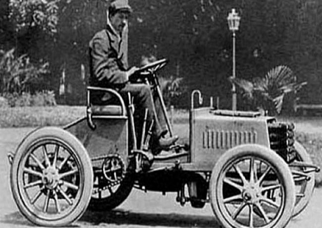 Bugatti Type 2, 1901 год