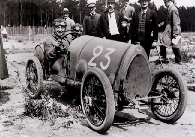 Bugatti Type 13. За рулем Эрнест Фредерик. 1911 год