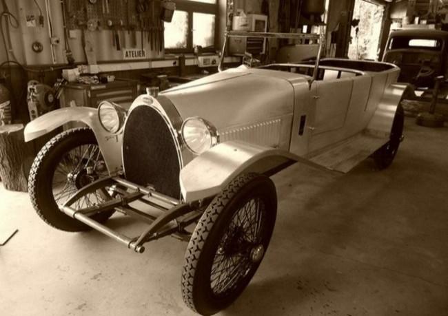 Bugatti Type 28, 1921 год