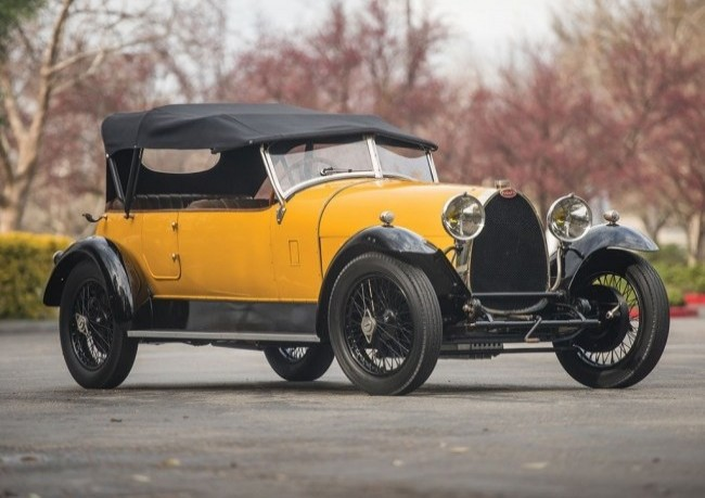 Bugatti Type 30 Tourer, 1925 год
