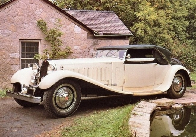 Bugatti Type 41 Royale Cabriolet Weinberger (41.121), 1932 год