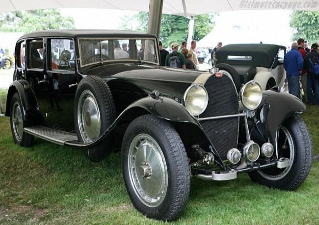 Bugatti Type 41 Royale Limousine Park-Ward (41.131), 1933 год