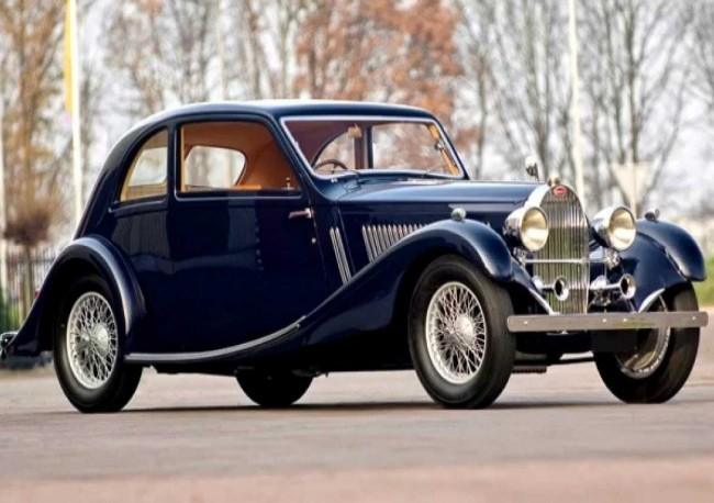 Bugatti Type 57 Sports Saloon, 1934 год