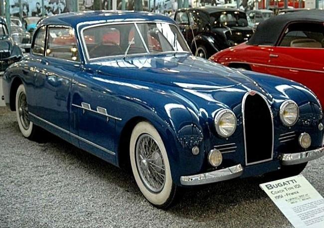 Bugatti Type 101, 1951 год