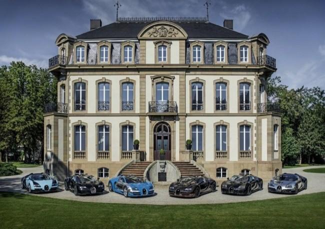 Штаб-квартира Bugatti Automobiles S.A.S. Шато Сен-Жан, Эльзас, Франция