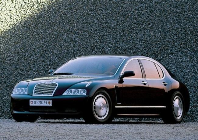Bugatti EB218, 1999 год