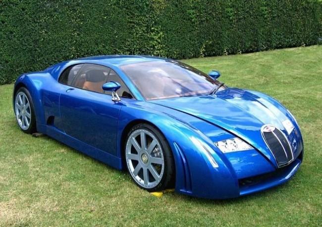 Bugatti EB 18/3 Chiron, 1999 год