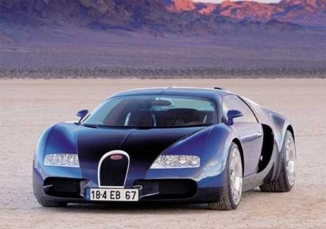 Bugatti EB 18/4 Veyron, 1999 год