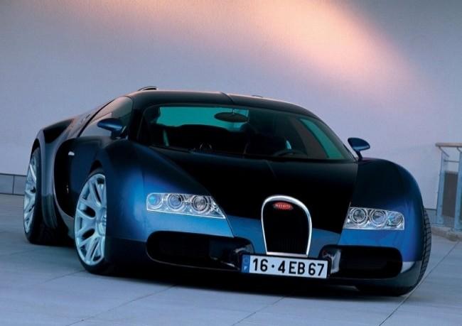 Bugatti EB 16/4 Veyron, 2000 год