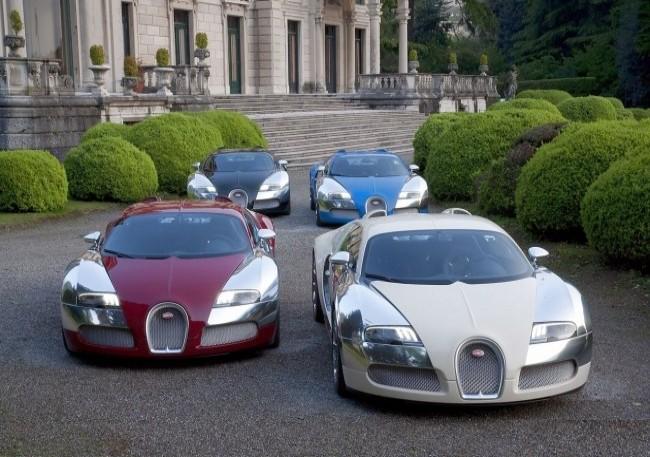 Bugatti 16.4 Veyron Centenaire, 2009 год